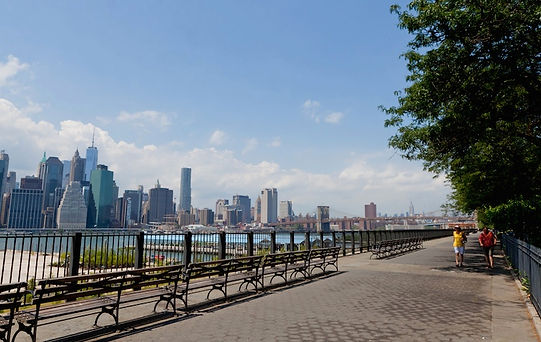 Brooklyn Heights Promenade, Roadtrip ruter og nationalparker i USA