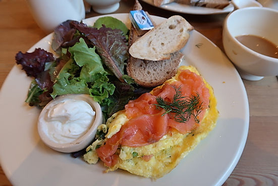 Sund morgenmad i USA. www.Drivingusa.dk