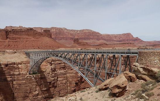 Navajo Bridge ved Page, Arizona