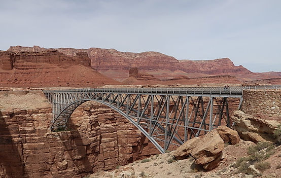 Navajo Bridge ved Page, Arizona