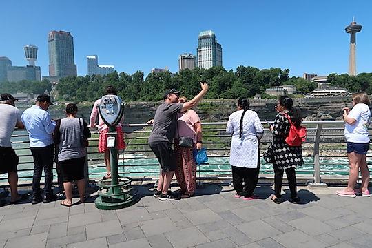 12 mill. turister i Niagara Falls. wwwdrivingusa.dk