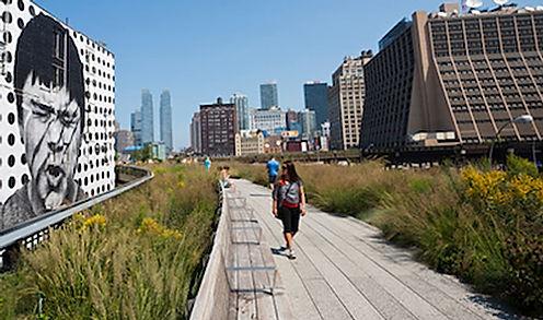 High Line i New York, drivingusa,dk, roadtrip