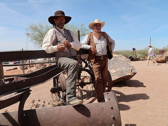 Cowboys i Goldfield Ghosttown