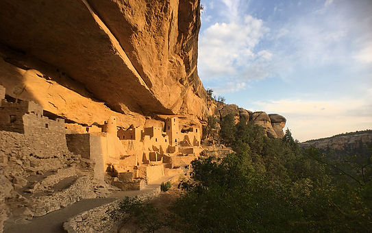 Mesa Verde i Colorado.