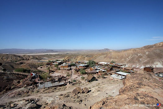 Calico Ghost Town ved Barstow, Californien