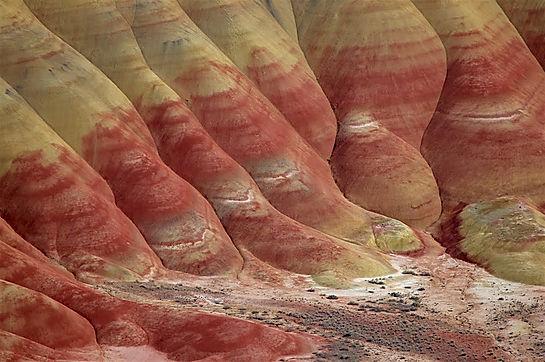 Painted Hills, Roadtrip ruter og nationalparker i USA