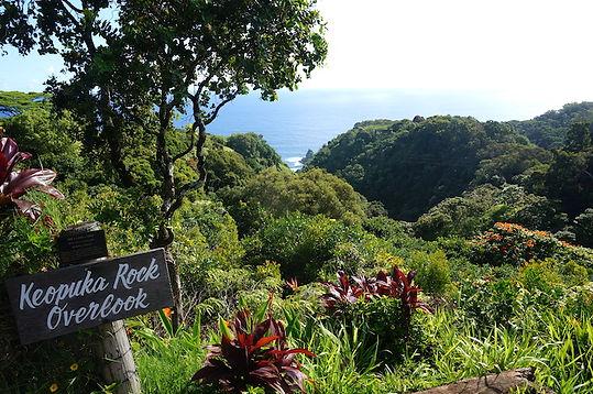 Keopuka Rock Overlook. Hawaii,Roadtrip ruter og nationalparker i USA