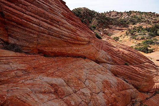 Yant Flat ligger kun en time fra Zion Nationalpark.