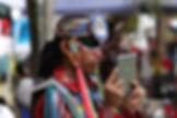 Indianer med ipad, drivingusa,dk, roadtrip