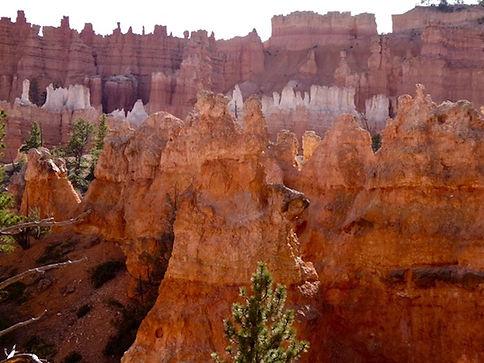 Bryce Canyon ligger mellem Zion og Capitol Reef nationalpark.