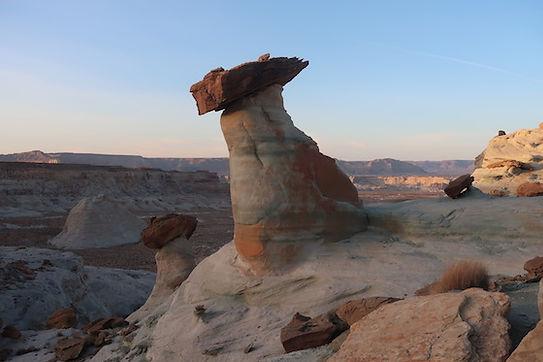 Stud Horse Point med utrolige hoodoos formationer. roadtrip og nationalparker i usa