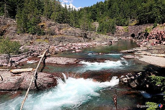 Glacier National Park. Roadtrip ruter og nationalparker i USA