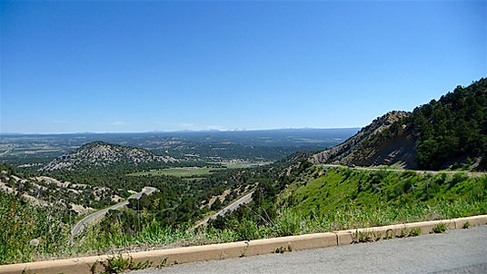 Ruten op til Mesa Verde. Drivingusa.dk - Roadtrip i USA