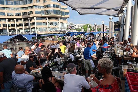 Spisesteder i Georgestown. www.Drivingusa.dk