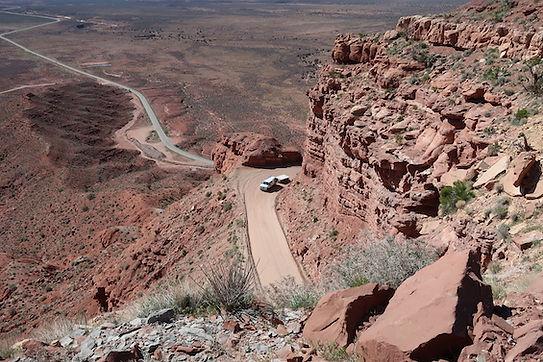 Moki Dugway. Farlig vej.jpg