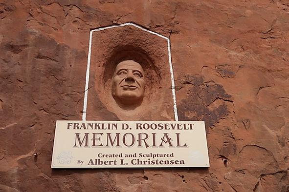 Albert Christensen, var en stor fan af Franklin Roosevelt
