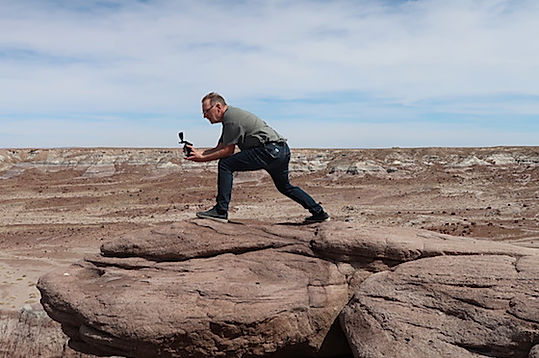 USA Blogger, Michael Bo Christensen, Petrified Forest.