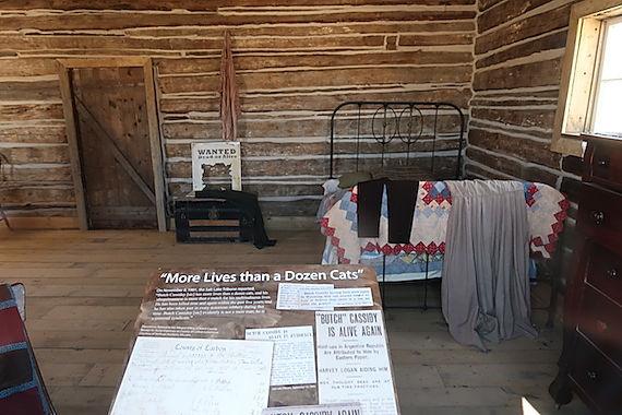 www.drivingusa.dk besøger Butch Cassidys barndomshjem