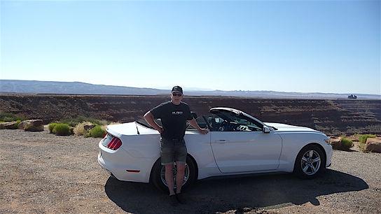 På roadtrip i en Mustang Convertible,michael bo christensen, Roadtrip ruter og nationalparker i USA