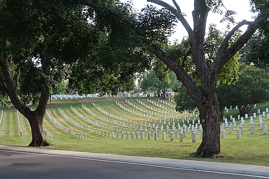 Arlington kirkegården i Washington. www.Drivingusa.dk