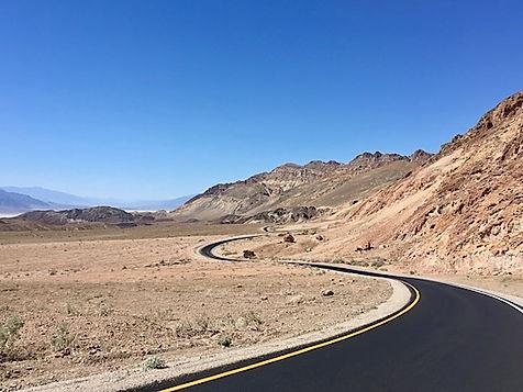 Regn er et sjældent syn i Death Valley