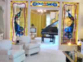Elvis's dagligstue i Graceland. Roadtrip ruter og nationalparker i USA