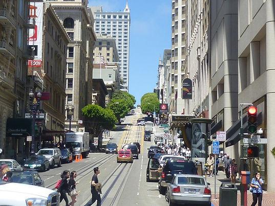Downtown San Francisco, Roadtrip ruter og nationalparker i USA