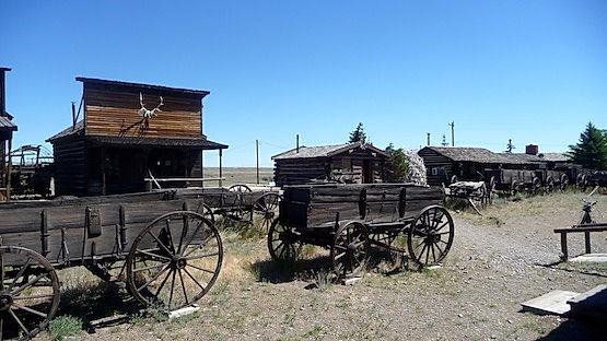 Old Trail Town i Cody, er et besøg værd.