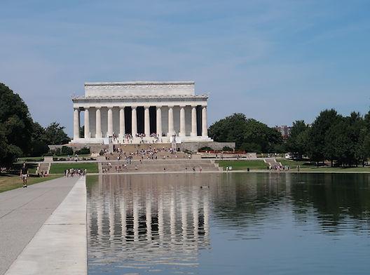 Lincoln munument i Washington. www.Drivingusa.dk