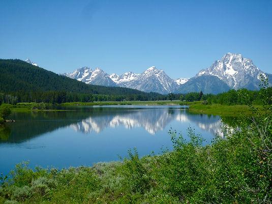 Grand Teton, Wyoming.Roadtrip ruter og nationalparker i USA