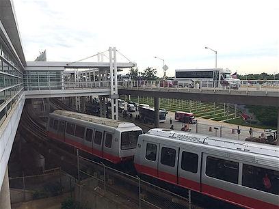 Tog mellem lufthavsterminalerne i Chicago, Roadtrip ruter og nationalparker i USA