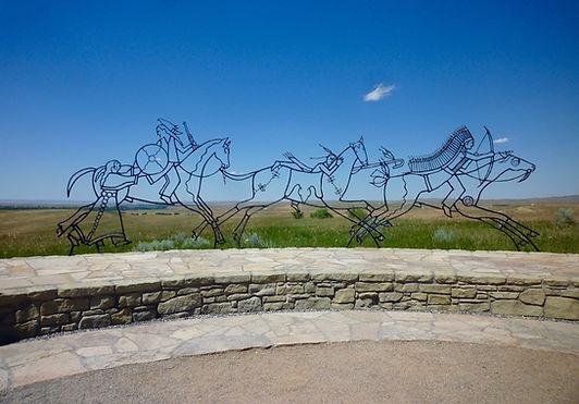 Little Big Horn Battlefield. Roadtrip ruter og nationalparker i USA