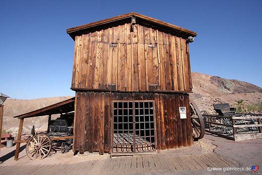 Spøgelsesbyen Calico i Californien
