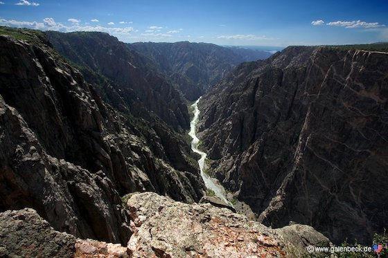Black Mountains of The Gunnison i Colorado.