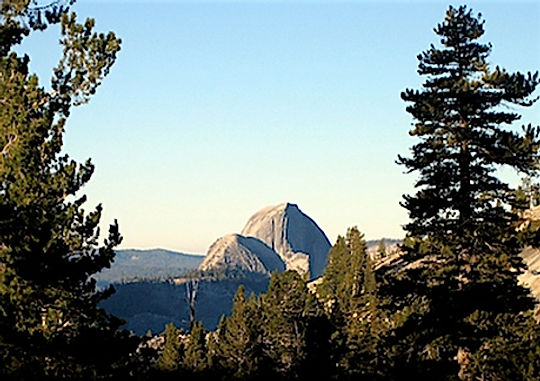 Olmsted Point. Yosemite Nat. Park. Roadtrip ruter og nationalparker i USA