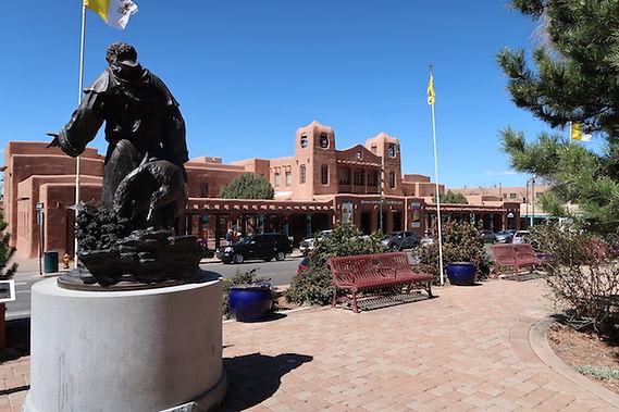 Santa Fe er hovestad i New Mexico