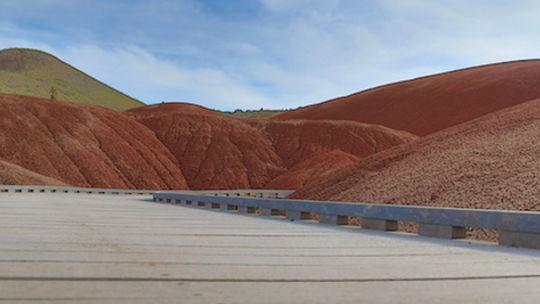 Painted Hills. Roadtrip ruter og nationalparker i USA