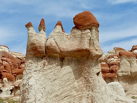 Hoodoos i Blue Canyon, Arizona