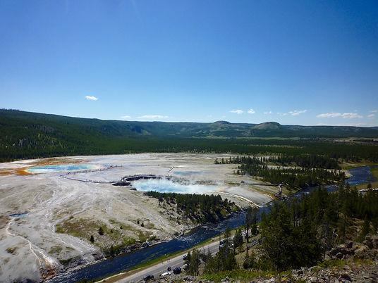Grand Primatic Springs. Yellowstone. www.Drivingusa.dk