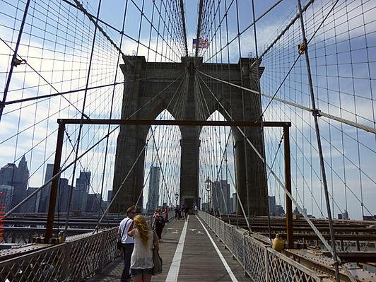 Brooklyn Bridge i New York, Roadtrip ruter og nationalparker i USA