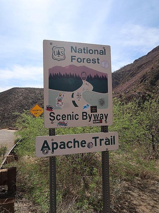 Apache Trail med www.drivingusa.dk