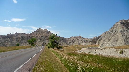 Badlands National Park, South Dakota. Roadtrip ruter og nationalparker i USA