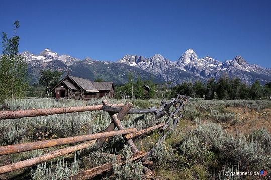 Grand Teton. Roadtrip ruter og nationalparker i USA