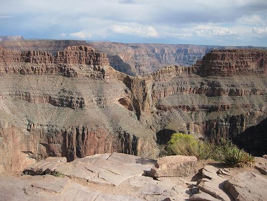 Eagle Point i Grand Canyon West.Roadtrip ruter og nationalparker i USA
