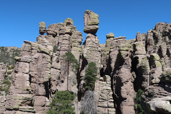 Chiricahua National Monument sydøst for Tucson, Arizona