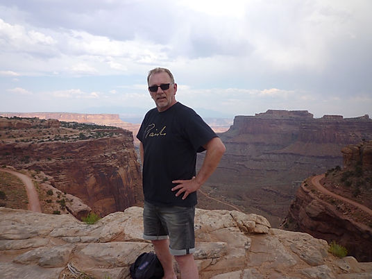 Michael Bo Christensen i Canyonlands. Roadtrip ruter og nationalparker i USA