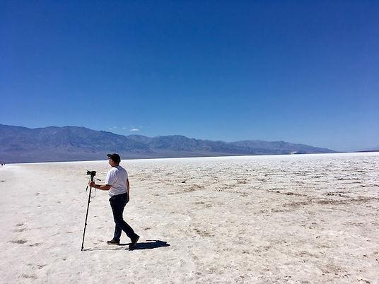Badwater. Death Valley. MIchael Bo Christensen. www.drivingusa.dk