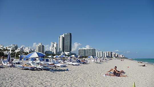Stranden i Miami, Roadtrip ruter og nationalparker i USA