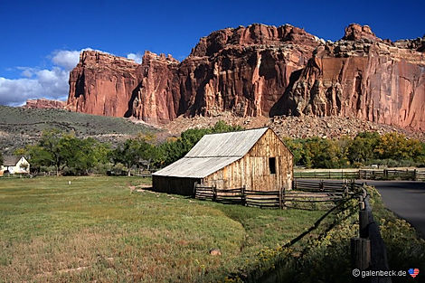 Capitol Reef. En af Utahs 5 store nationalparker. Roadtrip ruter og nationalparker i USA