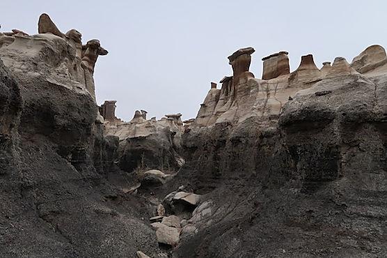 Bisti Wilderness. Roadtrip og nationalparker i usa